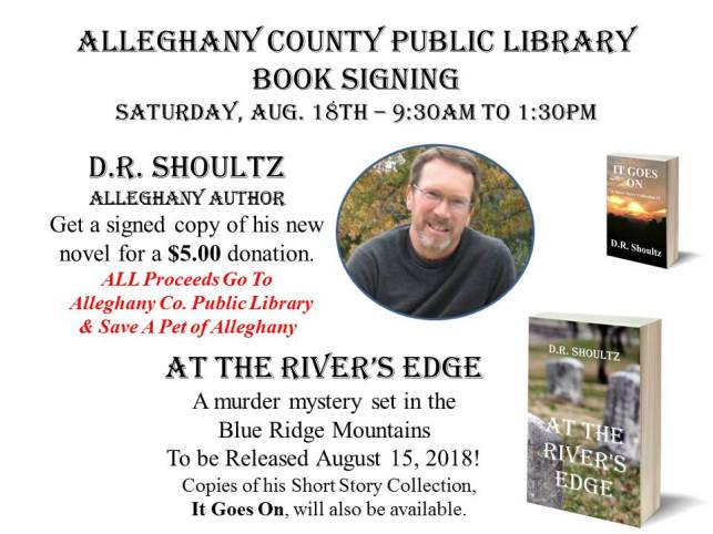 Book Signing - Alleghany Co Public Library