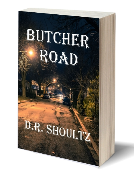 Butcher Road - 3D-Book-Template